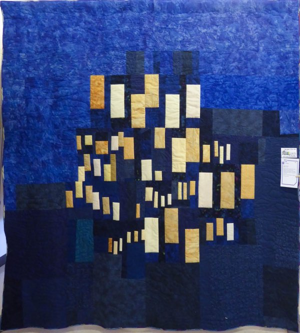 Alanna Nelson Orvieto Quilt at Rising Star Quilters 2016 show